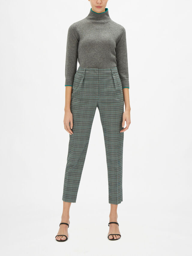Fionda Check Tapered Pant