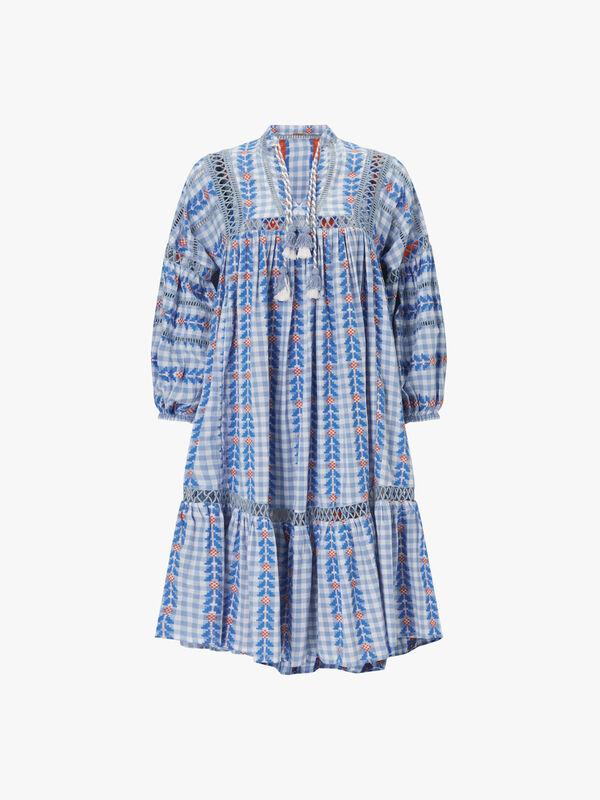 Elena Embroidered Dress