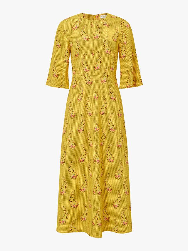 Kirsten Paisley Dress