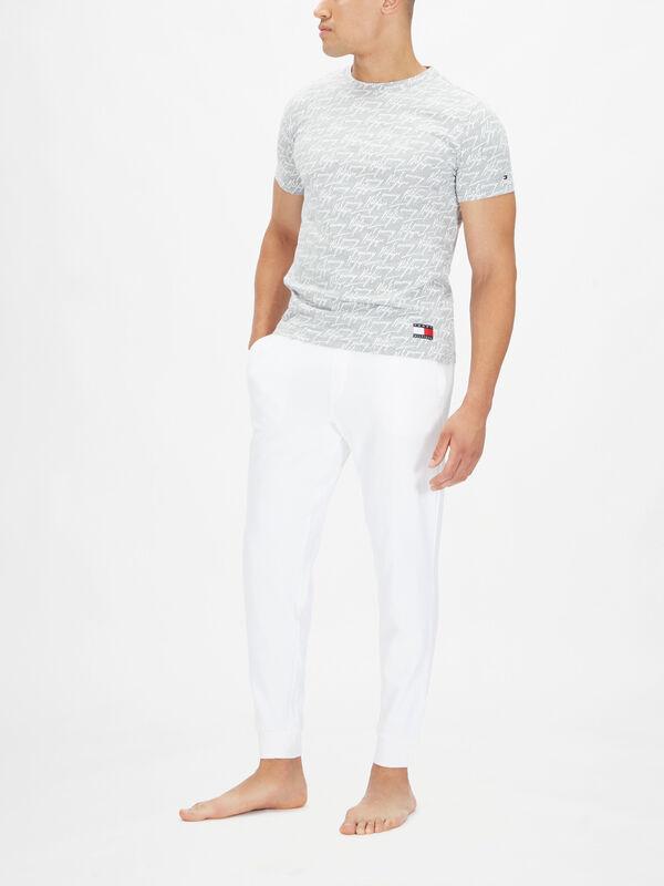 Allover Signature Cotton T-shirt