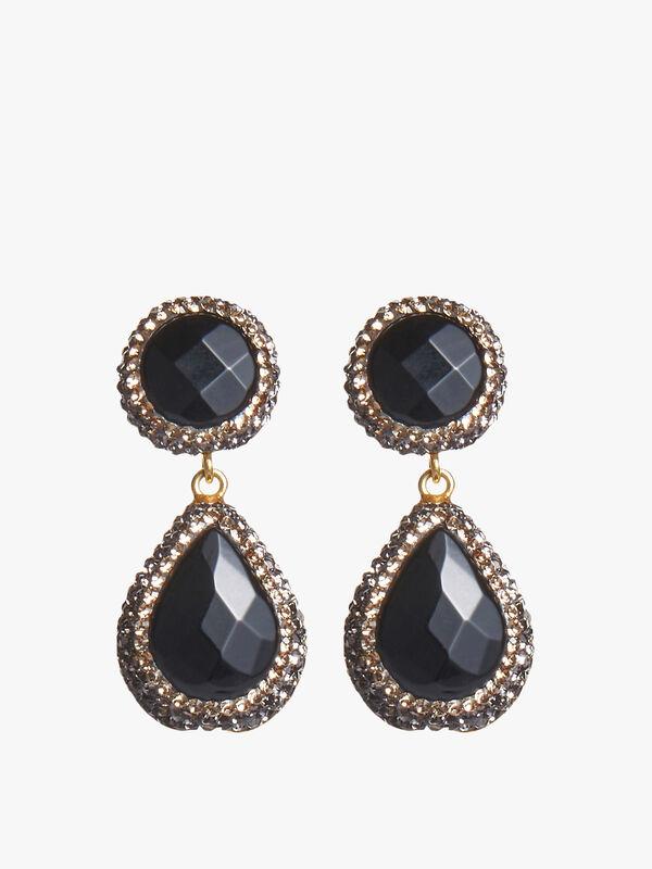 Soru Onyx Earrings