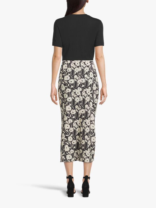 Slip Skirt With Side Slit