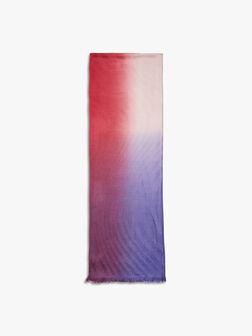 Swirl Textured Dip Dye Scarf