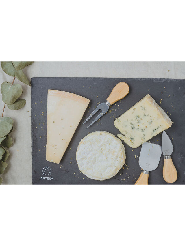Cheese Platter & Knife Set