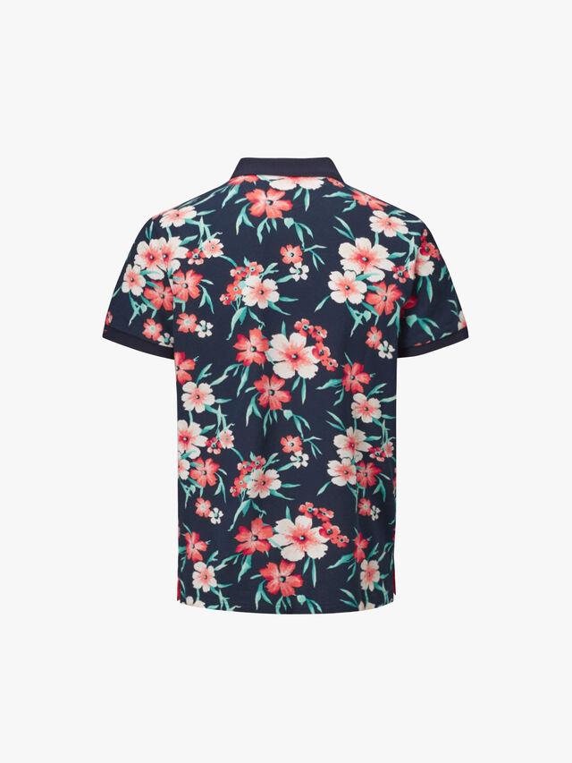 All Over Floral Piqué Rugger Polo Shirt