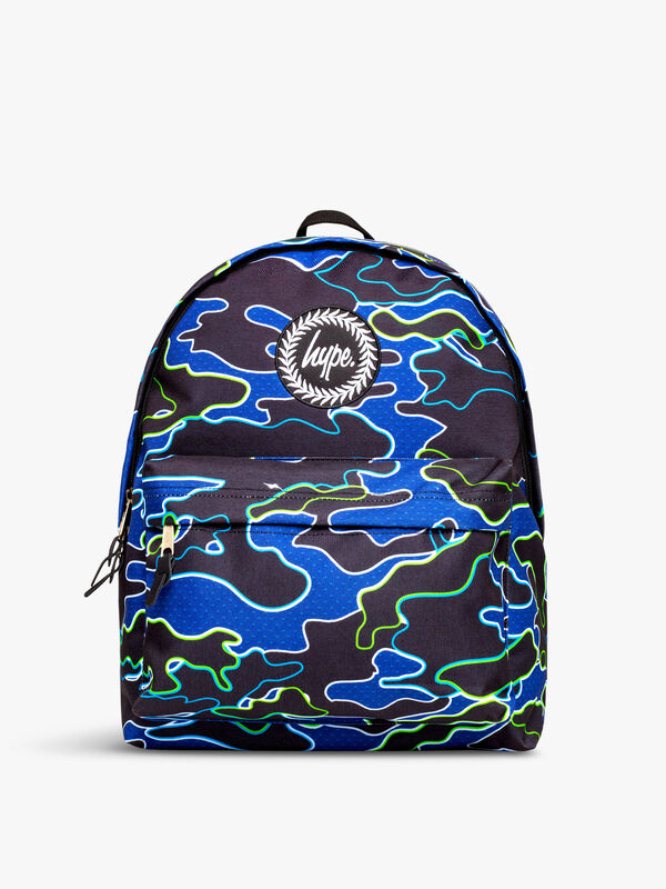 Line Camo Backpack