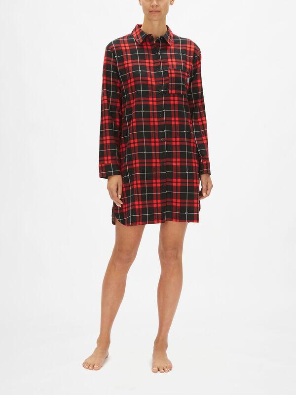 100% DKNY Long Sleeve Sleepshirt