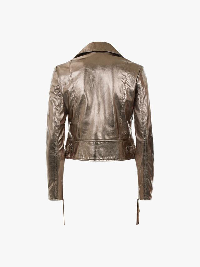 Depliant Leather Jacket