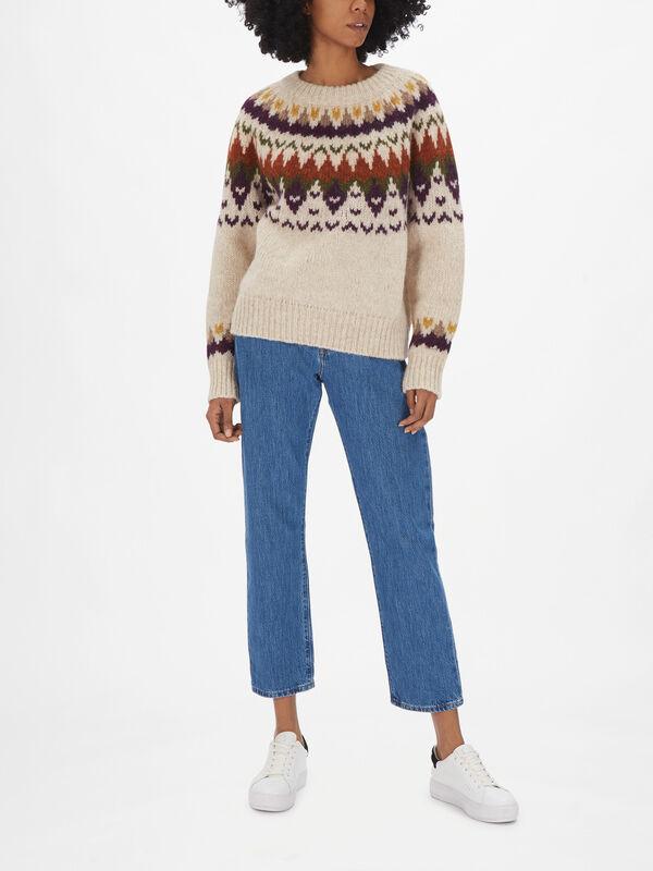 Winter Fairisle Knit