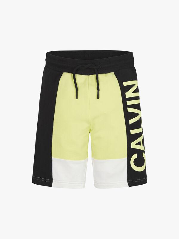 Colour Block Sweat Shorts