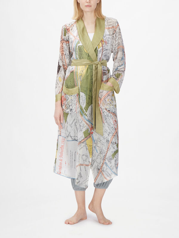 London Map Gown