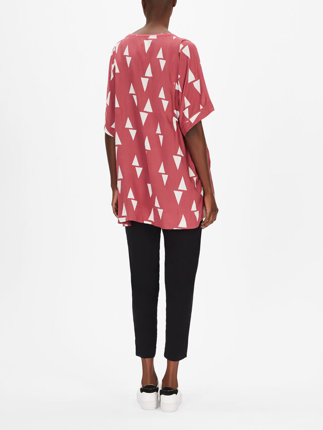 Gabi Triangle Print Tunic