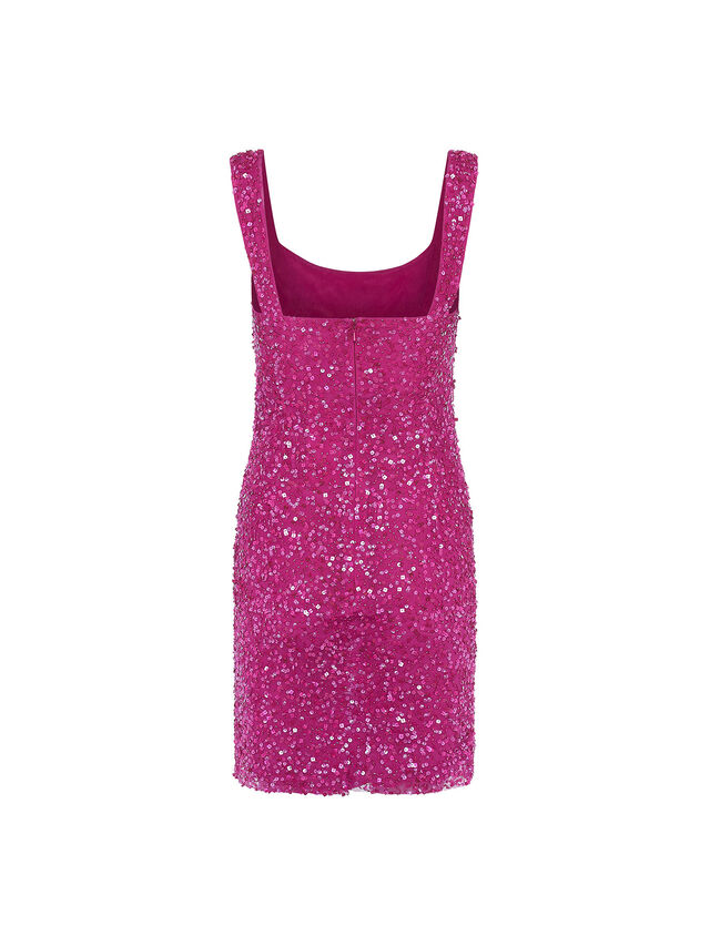 Alban Sequin Strappy Dress