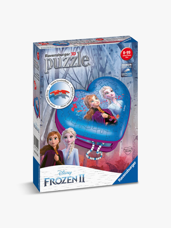 Disney Frozen 2 Heart Shaped 3D Puzzle 54pc
