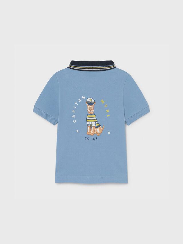 Polo Shirt with Dog