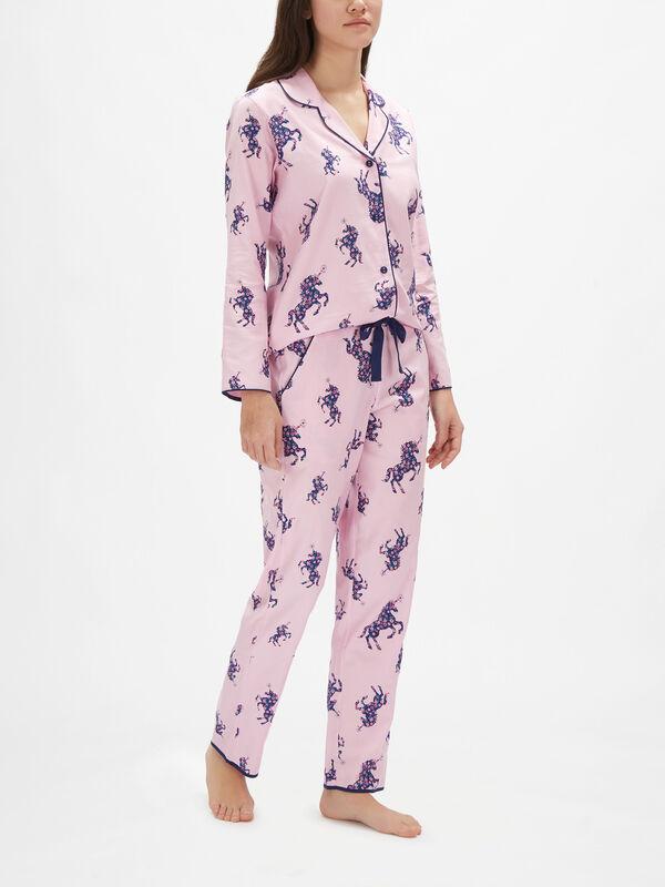 Ariana Unicorn Print Pyjama Pants