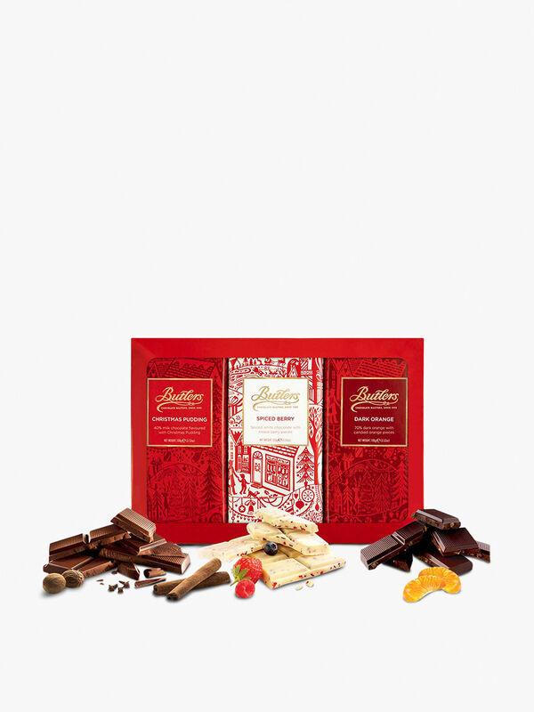 Christmas Chocolate Bar Library 300g