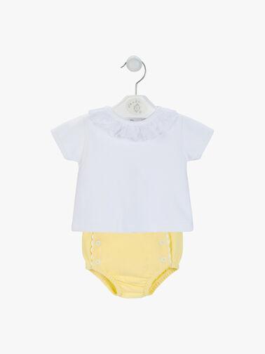 Ruffle-Collar-T-shirt-with-Pants-AV6099L