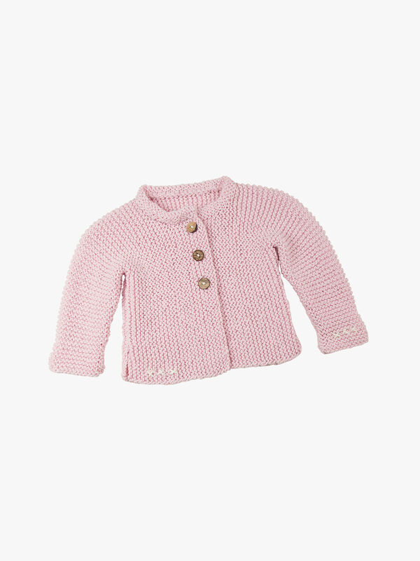 Lily Cardigan Knitting Kit 3-6 months