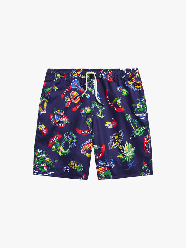 Captiva Tropical Swim Trunks