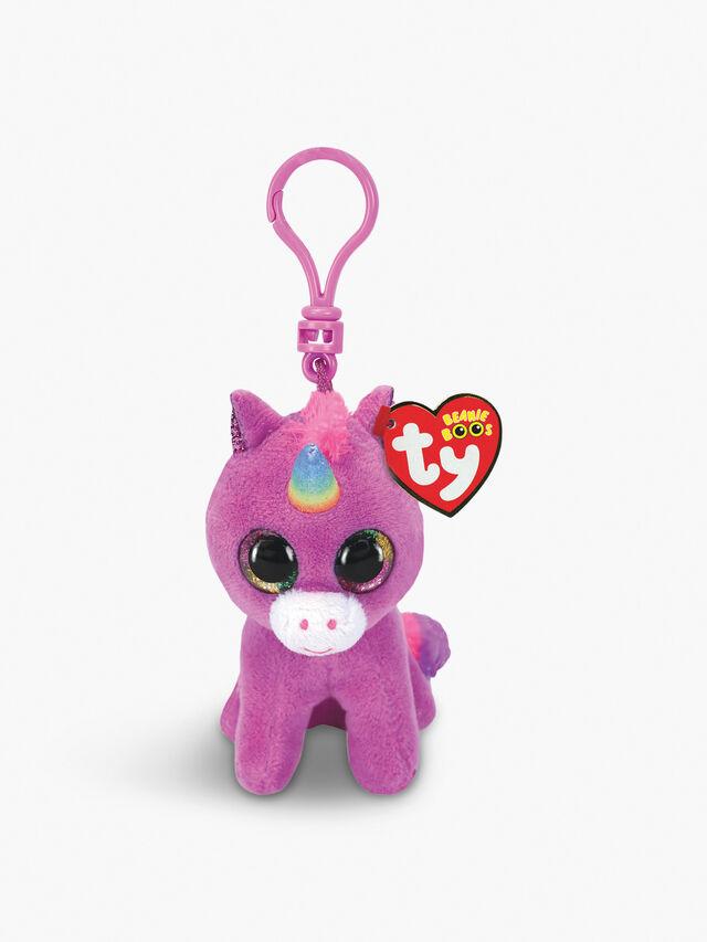 Rosette Unicorn Boo Key Clip