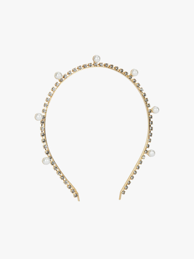 Pearl Drop Headband