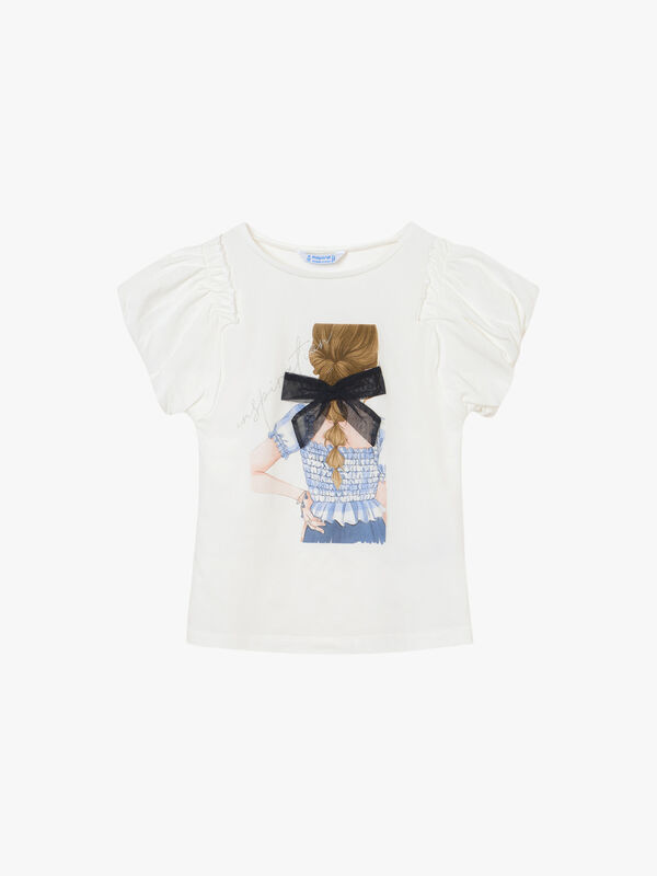 Girl Bow T-Shirt