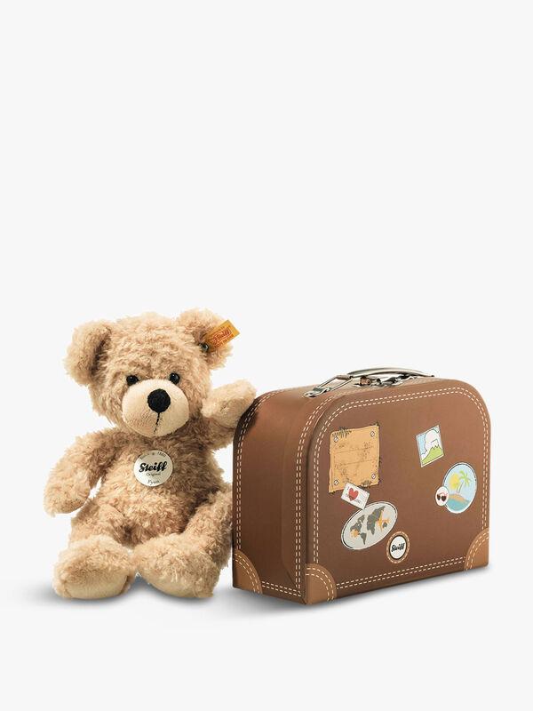 Fynn Teddy Ber In Suitcase