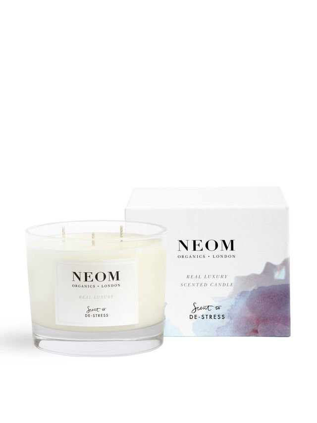 Real Luxury 3 Wick Scented Candle