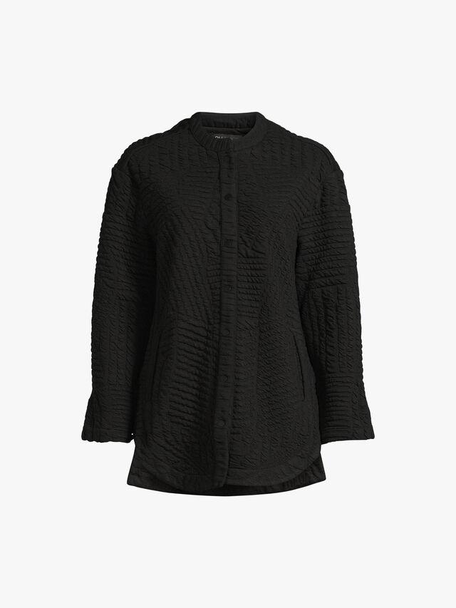 Textured Cless Shirt Jacket