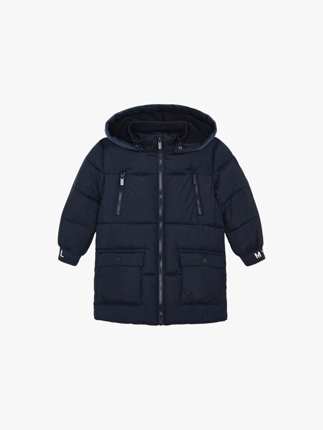 Puffa Jacket With 2 Zips