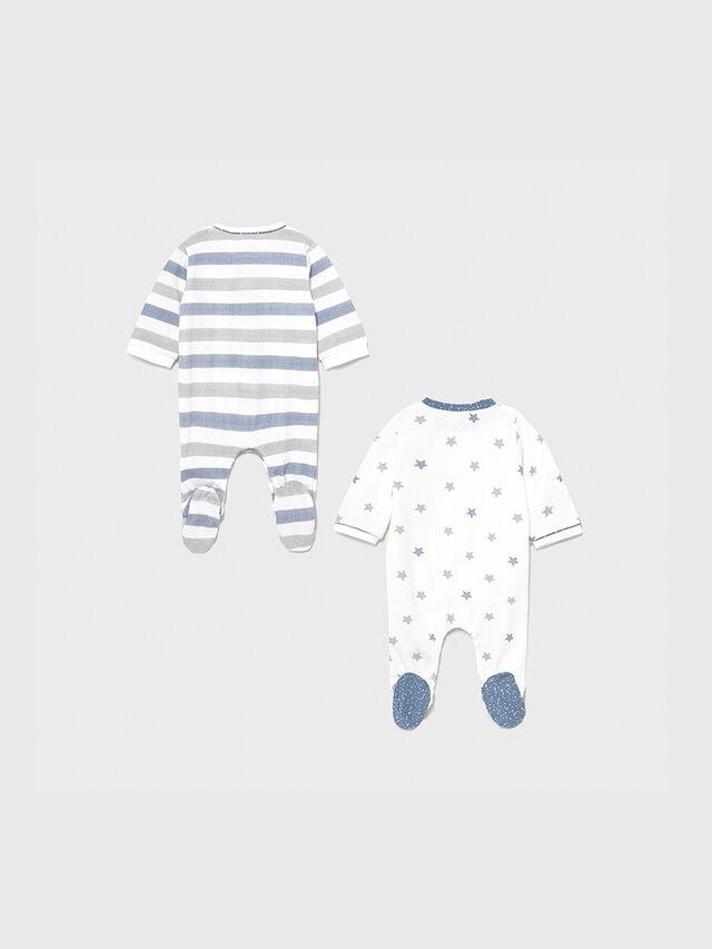 Stripe &Star Babygrow Two Piece Set