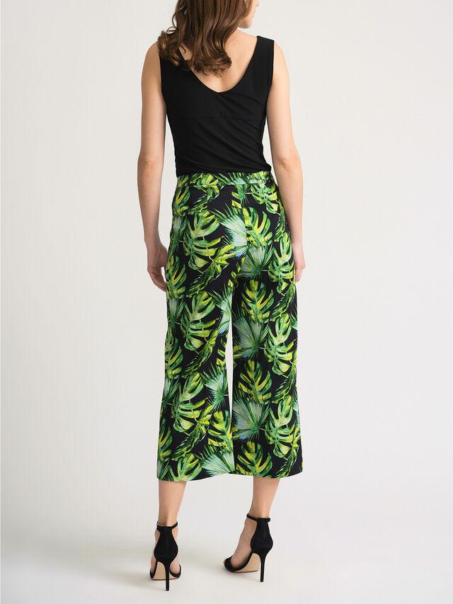Jungle Print Crop Trouser