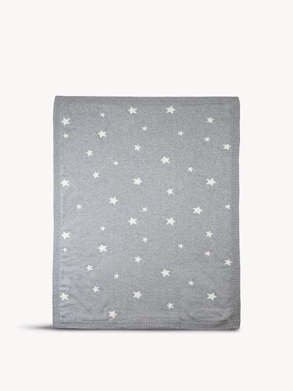 Knitted Star Blanket