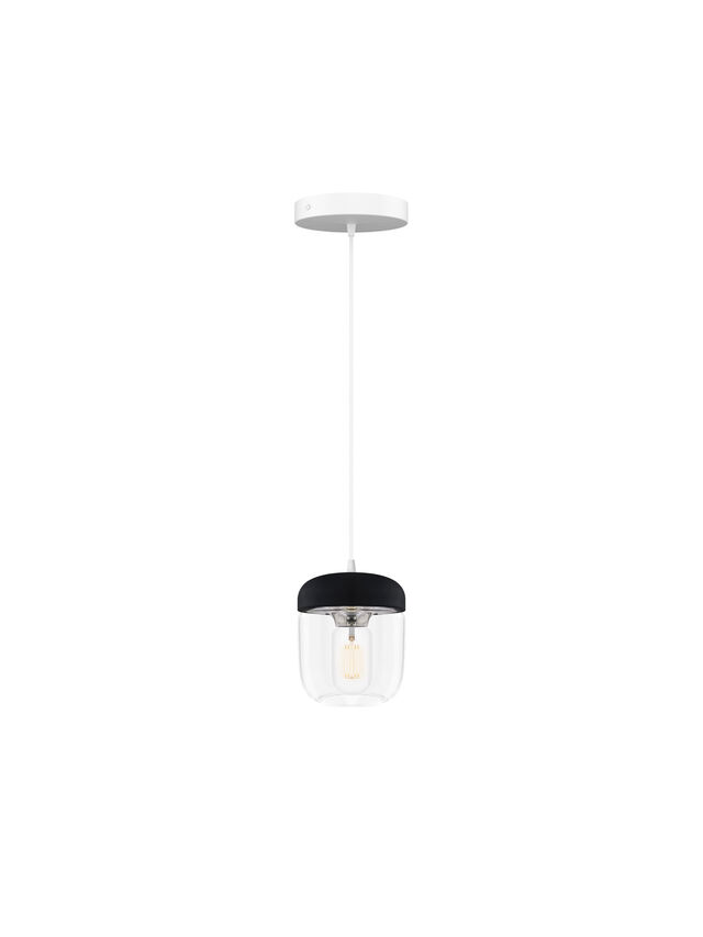 Acorn Black Ceiling Light