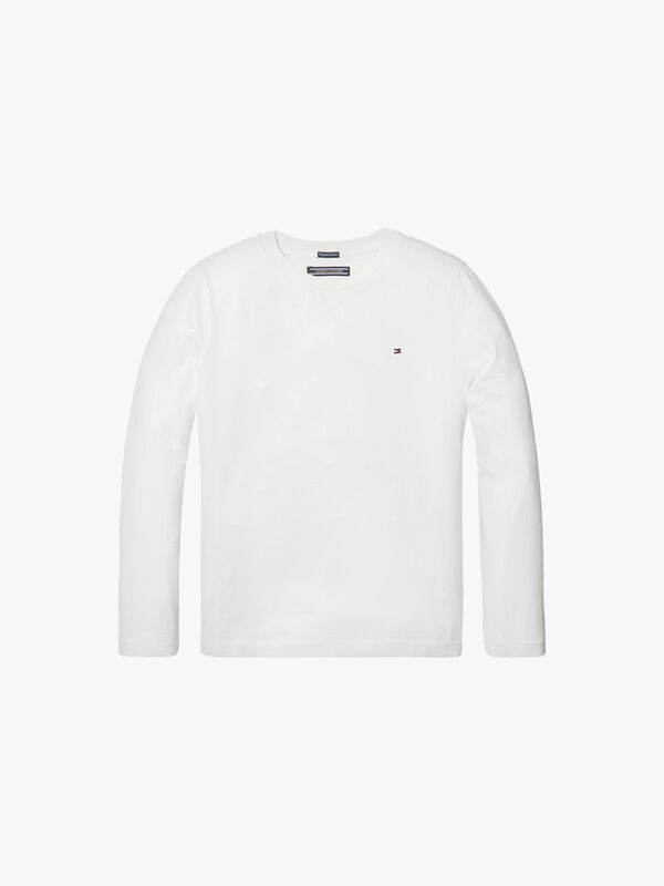 Basic Crew Neck Knit T-Shirt