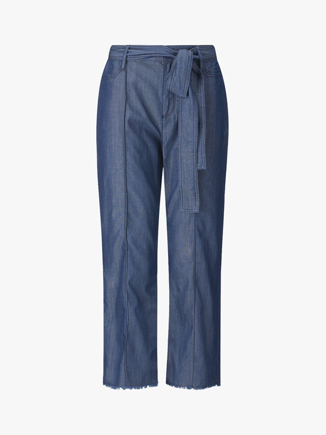 Dina Chambray Trousers