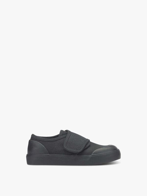 Skip Black Plimsolls