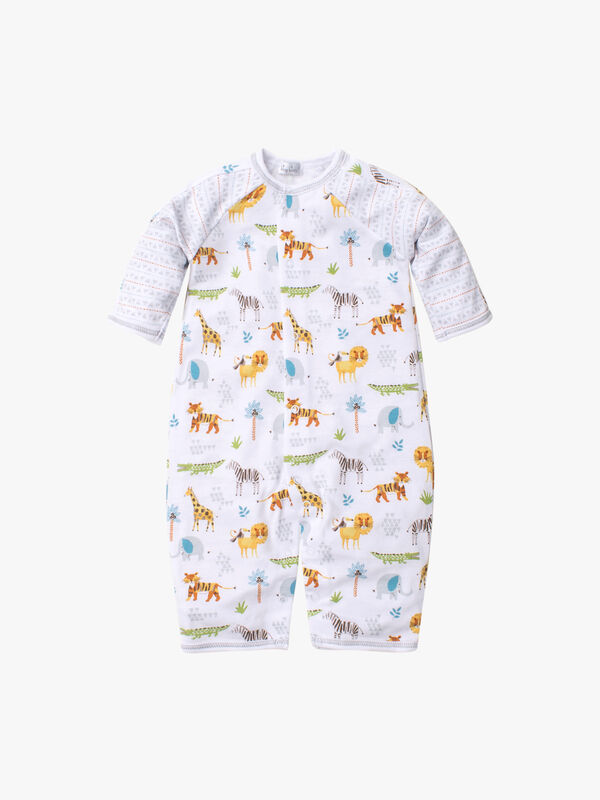 Jungle Junket Playsuit Print