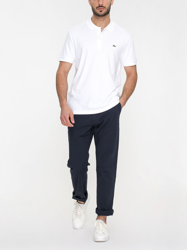 Short Sleeve Plain Jersey Polo Shirt