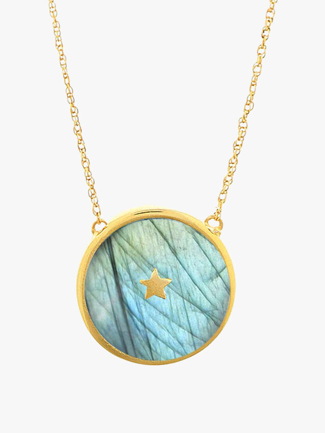Night Sky Pendant Necklace