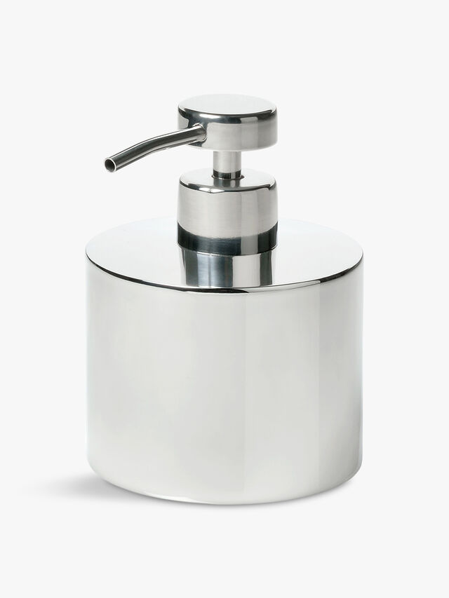 Shiny Round Soap Dispenser
