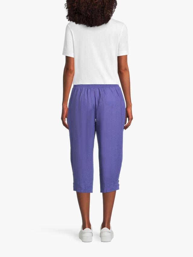 Pen Knee Length Slim Fit Trouser