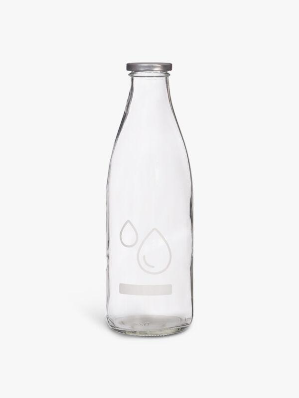 Storage Bottle 1l Glass
