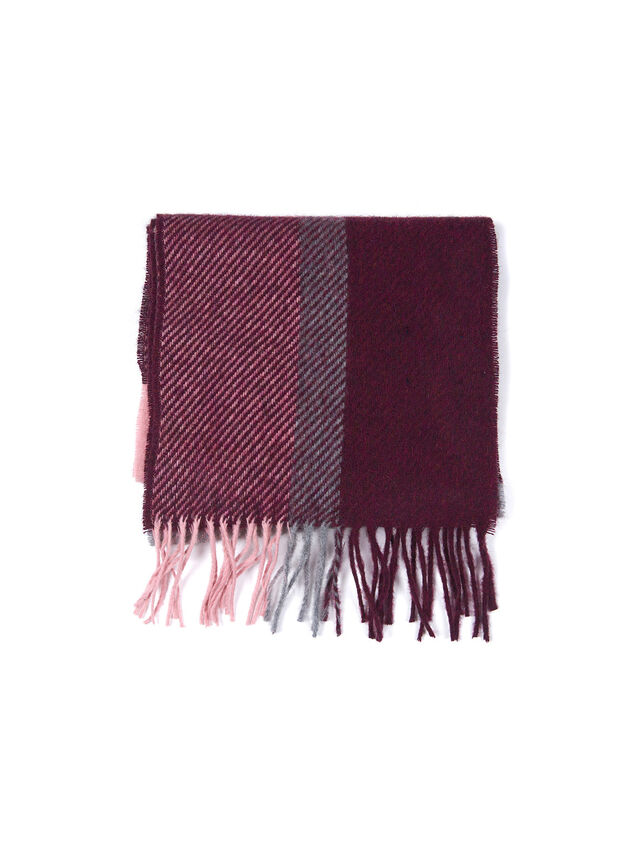 Hamble Check Scarf