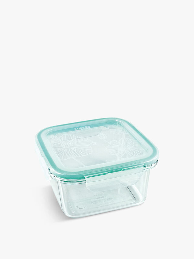 Square Clearly Container 580ml