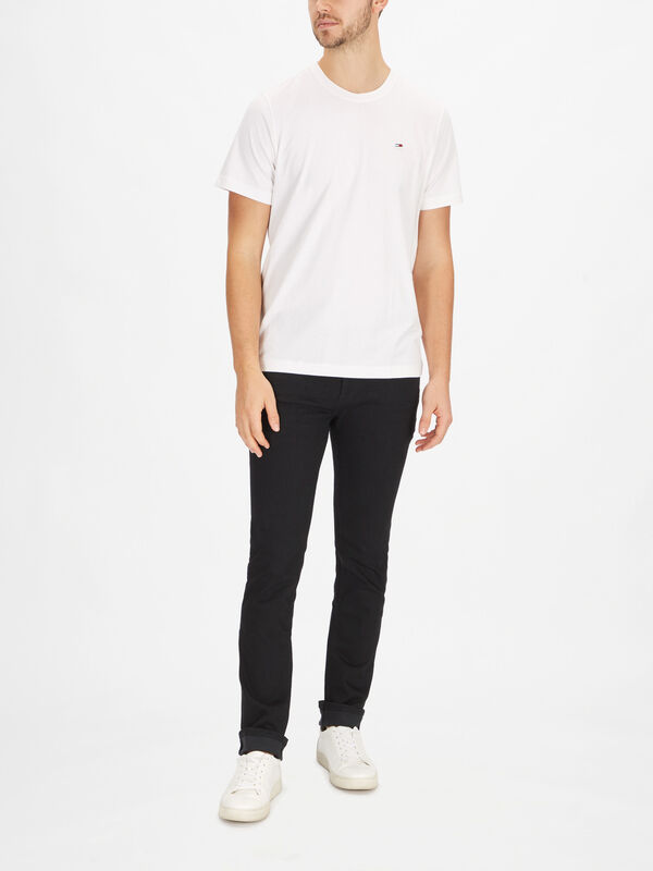 Regular Jersey Crew Neck T-Shirt