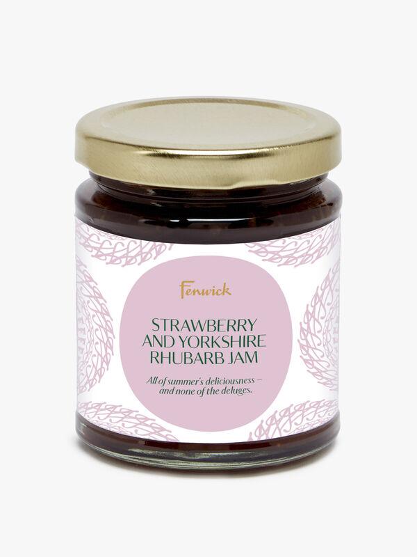 Strawberry & Yorkshire Rhubarb Jam 227g