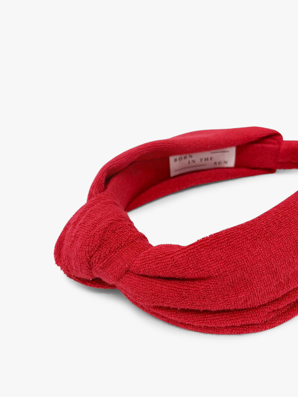 Towelling Knotted Headband