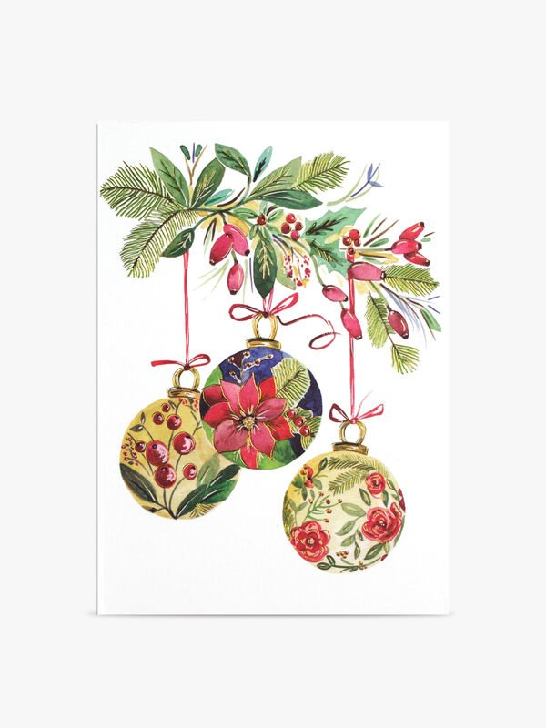 Botanical Ornaments Mini Cards Pack of 20